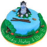 Gorilla Jungle Safari Cake - Last minute cakes delivered tomorrow!