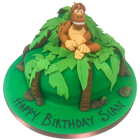 Gorilla Safari Cake - Last minute cakes delivered tomorrow!