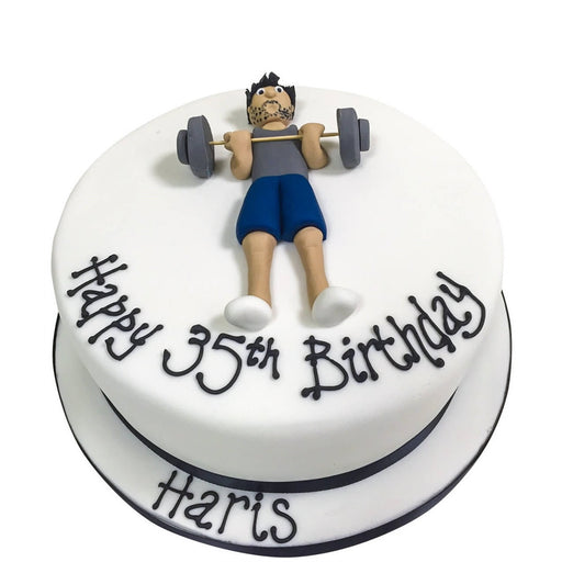 Gym Cake - Last minute cakes delivered tomorrow!