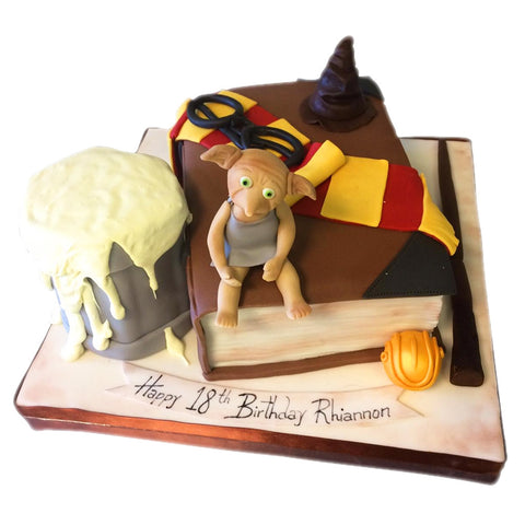 Harry Potter Cake - Last minute cakes delivered tomorrow!