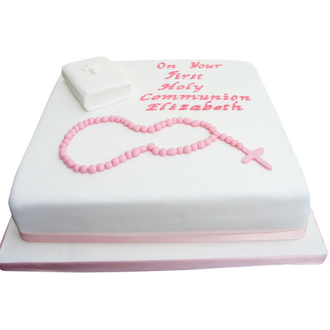 Holy Communion Cake - Last minute cakes delivered tomorrow!