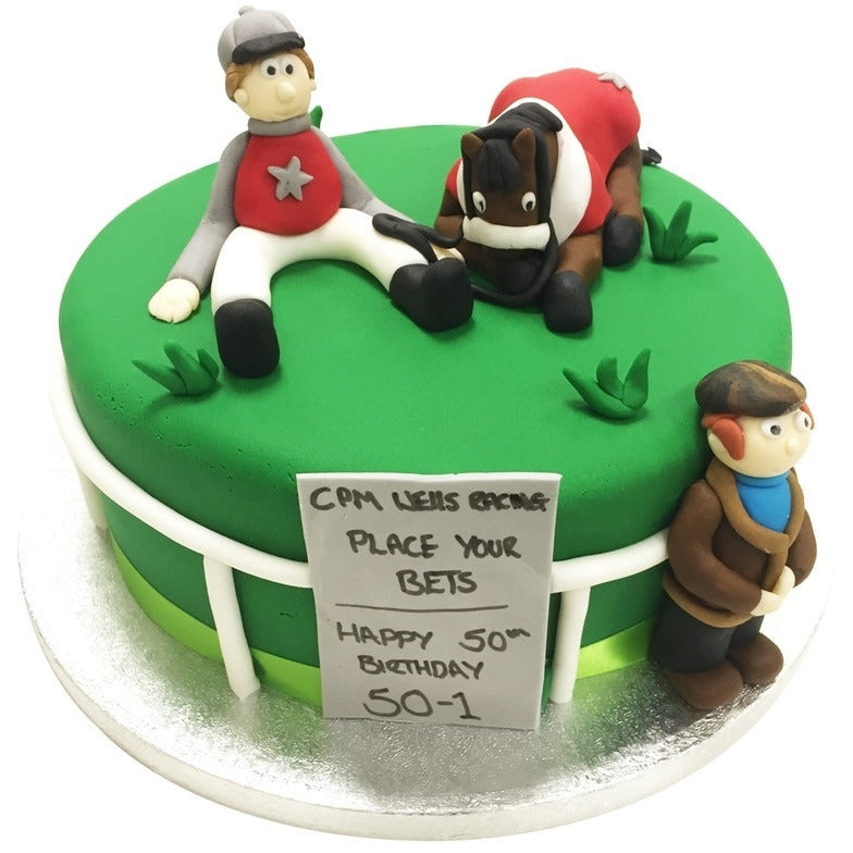 Remarkable Horse Racing Cake Buy Online Free Uk Delivery New Cakes Funny Birthday Cards Online Unhofree Goldxyz