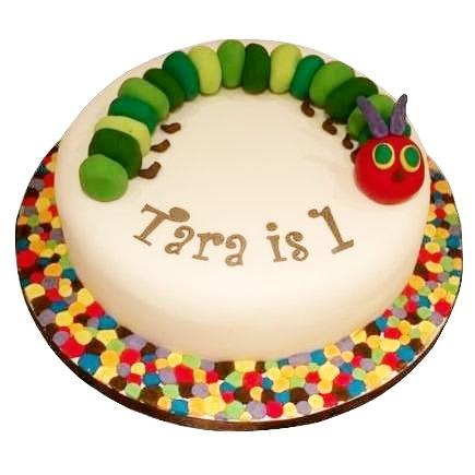 Hungry Caterpillar Cake - Last minute cakes delivered tomorrow!