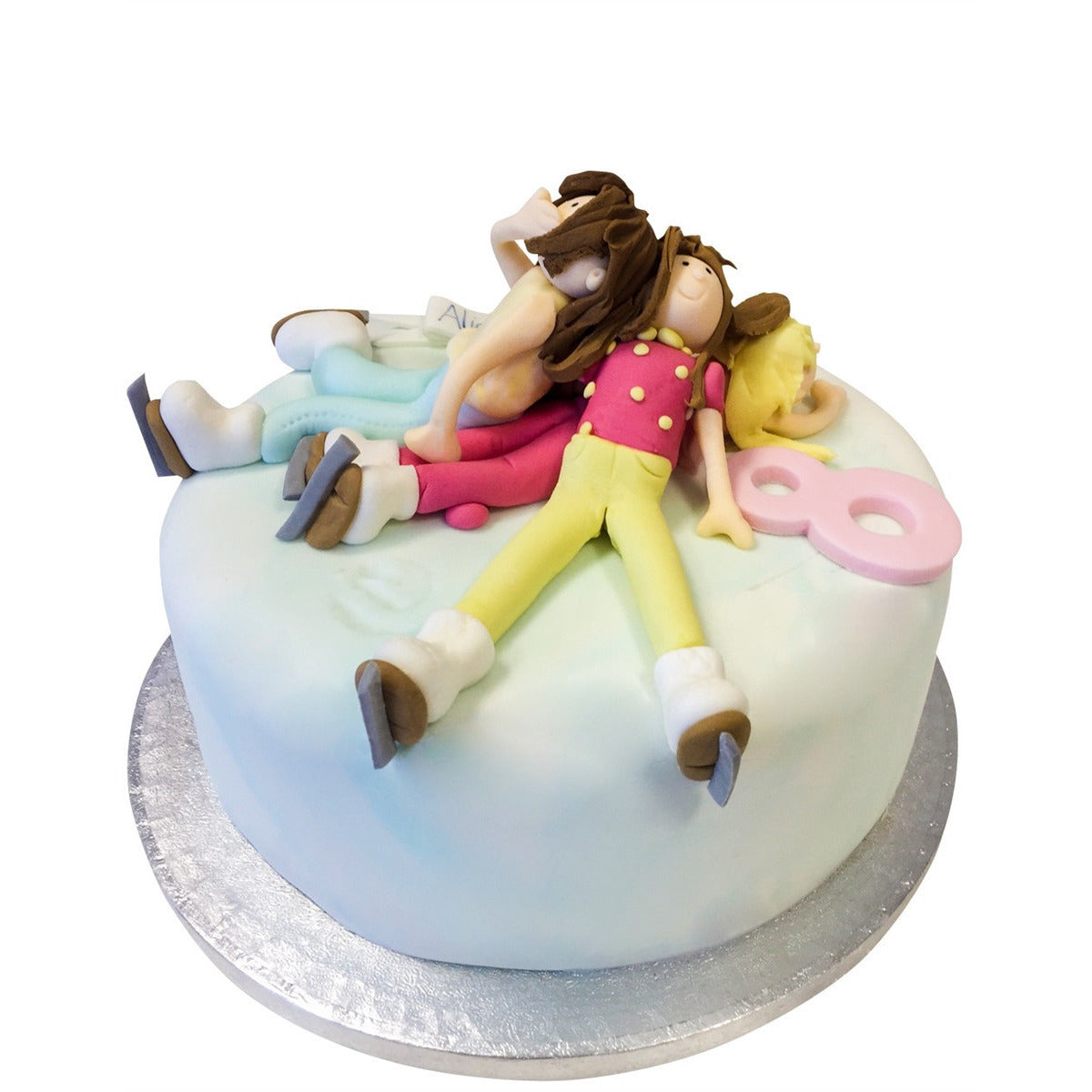 Outstanding Ice Skating Cake Buy Online Free Uk Delivery New Cakes Personalised Birthday Cards Petedlily Jamesorg