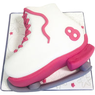 Ice Skates Cake - Last minute cakes delivered tomorrow!