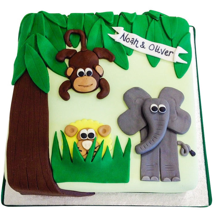 Jungle Cake - Last minute cakes delivered tomorrow!