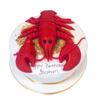 Lobster Cake - Last minute cakes delivered tomorrow!