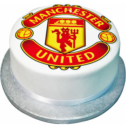 Manchester United Cake - Last minute cakes delivered tomorrow!