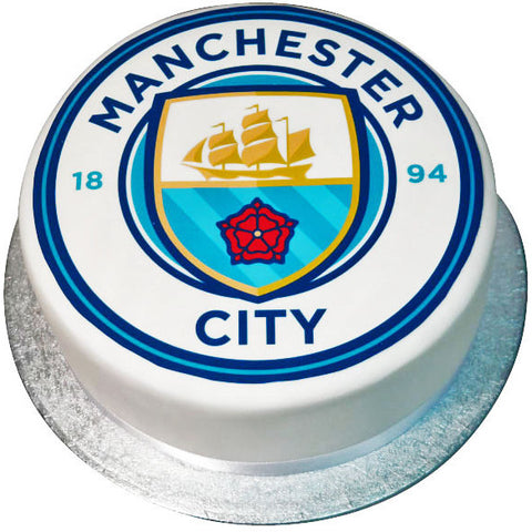 Manchester City Cake - Last minute cakes delivered tomorrow!