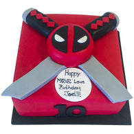 Deadpool Cake - Last minute cakes delivered tomorrow!