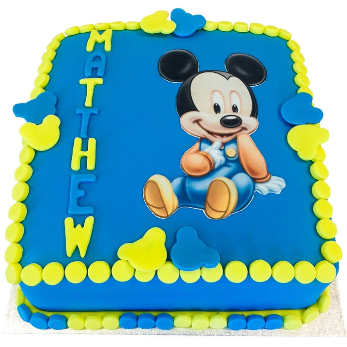 Mickey Mouse Cake - Last minute cakes delivered tomorrow!