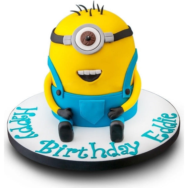 Astounding Minion Birthday Cake Buy Online Free Uk Delivery New Cakes Funny Birthday Cards Online Aeocydamsfinfo