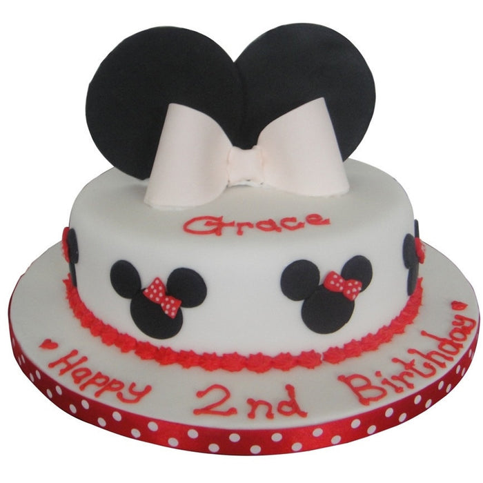 Minnie Mouse Cake - Last minute cakes delivered tomorrow!