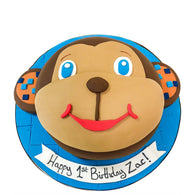 Monkey Cake - Last minute cakes delivered tomorrow!