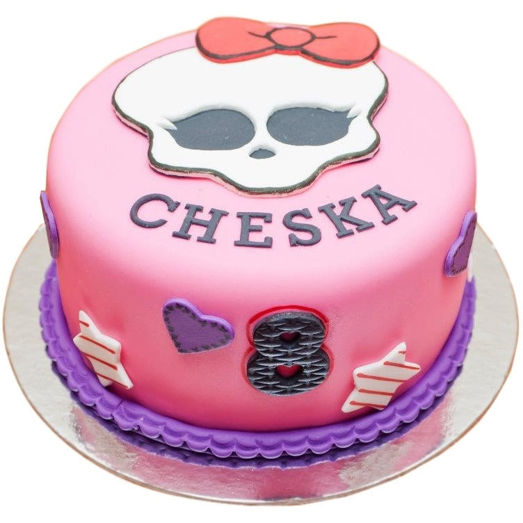 Amazing Monster High Cake Buy Online Free Uk Delivery New Cakes Personalised Birthday Cards Veneteletsinfo