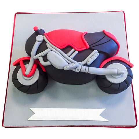 Motorbike Cake - Last minute cakes delivered tomorrow!