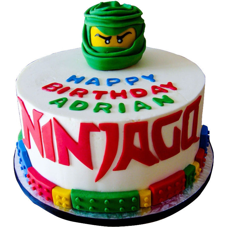 Groovy Ninjago Cake Buy Online Free Uk Delivery New Cakes Funny Birthday Cards Online Inifofree Goldxyz