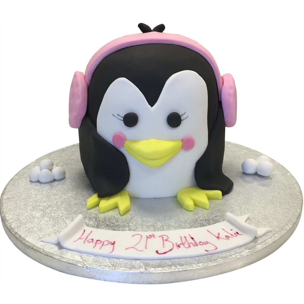 Penguin Cake Buy Online Free Uk Delivery New Cakes
