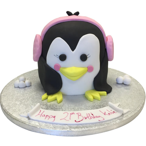 Penguin Cake - Last minute cakes delivered tomorrow!
