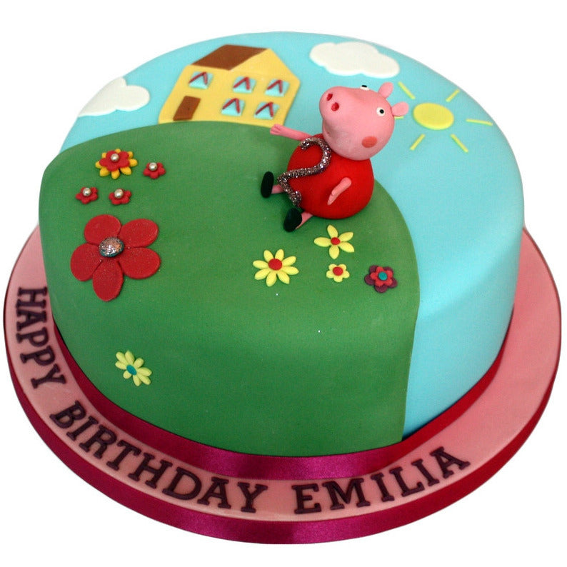 Peppa pig cake buy online free uk delivery new cakes for Decorazioni torte on line