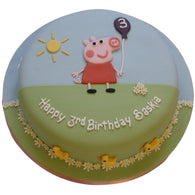 Peppa Pig Cake - Last minute cakes delivered tomorrow!
