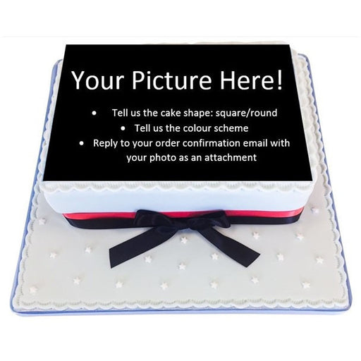 Photo Cakes - Last minute cakes delivered tomorrow!