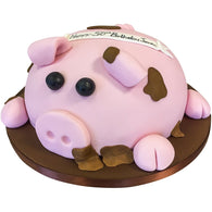 Pig Cake - Last minute cakes delivered tomorrow!
