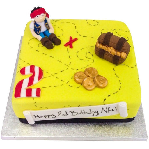 Pirate Cake - Last minute cakes delivered tomorrow!