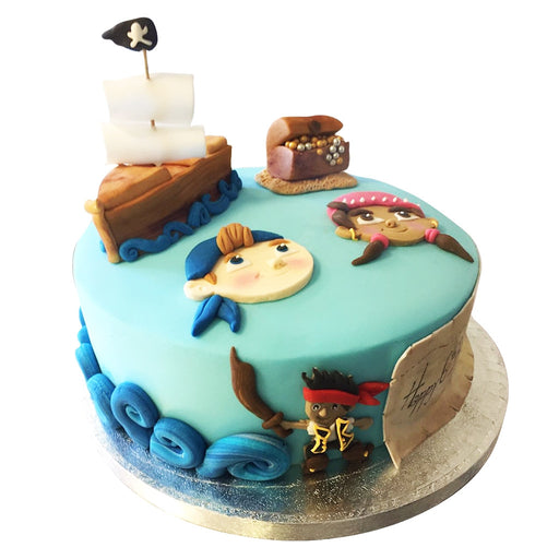 Pirate Jake Cake - Last minute cakes delivered tomorrow!