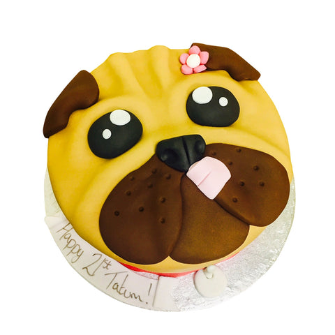 Pug Cake - Last minute cakes delivered tomorrow!