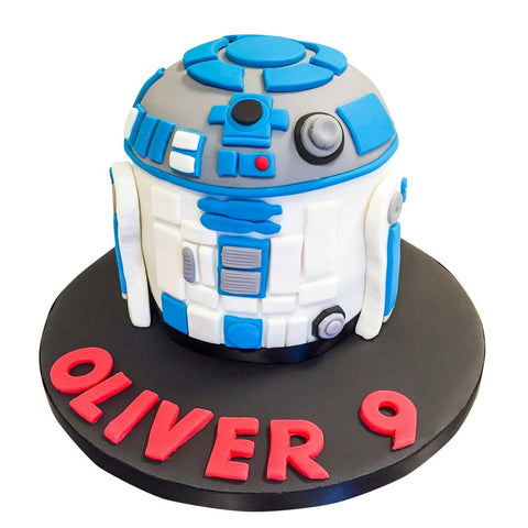 R2D2 Cake - Last minute cakes delivered tomorrow!