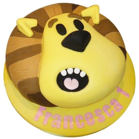 Raa Raa The Noisy Lion Cake - Last minute cakes delivered tomorrow!