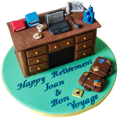Retirement Cake - Last minute cakes delivered tomorrow!
