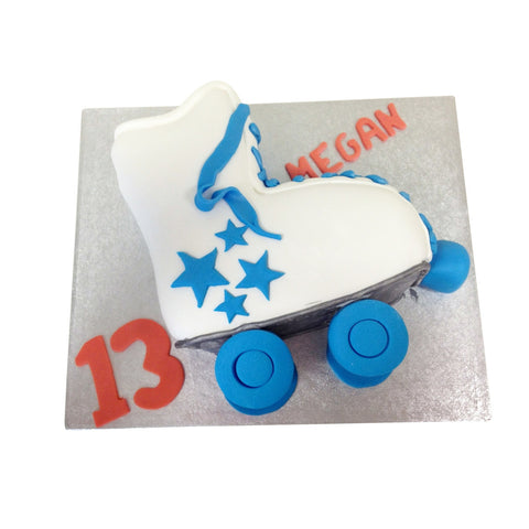 Roller Skates Cake - Last minute cakes delivered tomorrow!