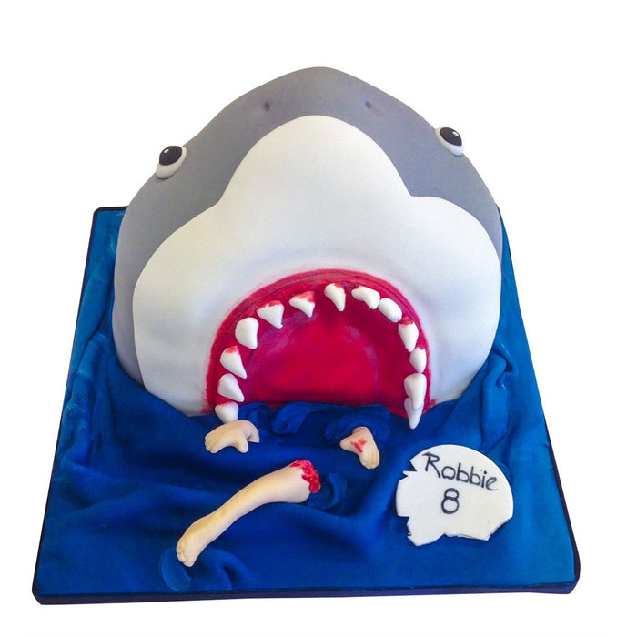 Shark Cake - Last minute cakes delivered tomorrow!