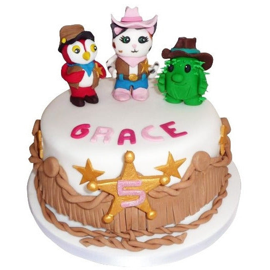 Sheriff Callie Cake - Last minute cakes delivered tomorrow!