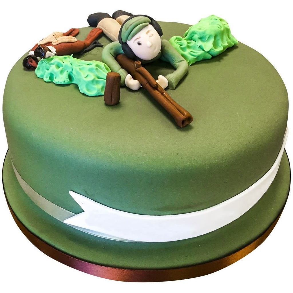 Shooting Cake Buy Online Free Uk Delivery New Cakes