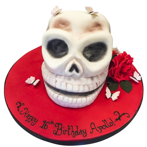 Skull Cake - Last minute cakes delivered tomorrow!
