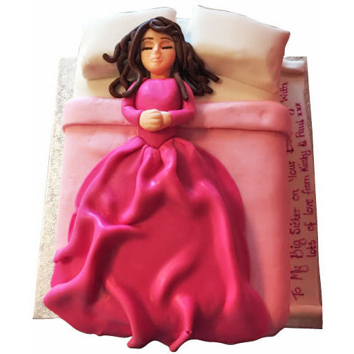Sleeping Beauty Cake - Last minute cakes delivered tomorrow!