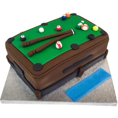 Snooker Pool Table Cake - Last minute cakes delivered tomorrow!