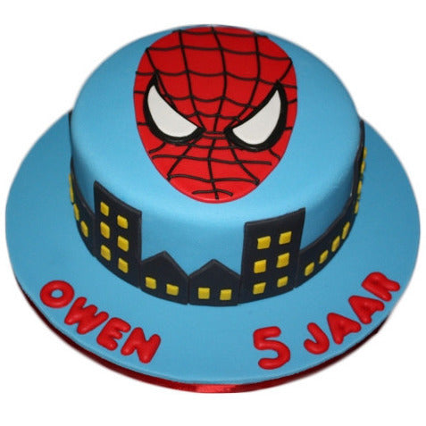 Spiderman Cake Buy Online Free UK Delivery New Cakes