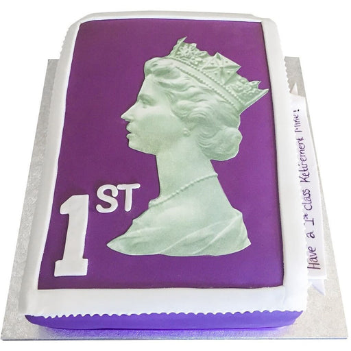 Stamp Cake - Last minute cakes delivered tomorrow!