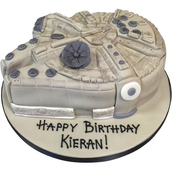Millennium Falcon Cake - Last minute cakes delivered tomorrow!
