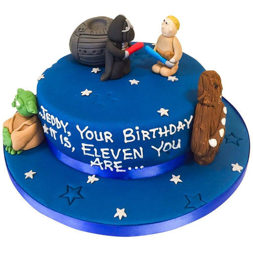 Star Wars Cake - Last minute cakes delivered tomorrow!