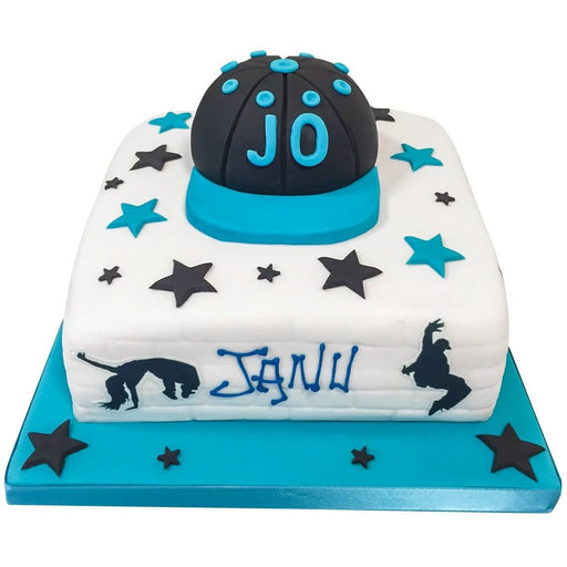 Streetdancing Cake - Last minute cakes delivered tomorrow!
