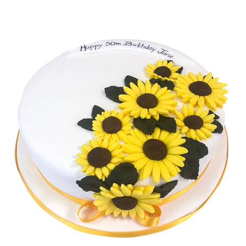 Sunflower Cake - Last minute cakes delivered tomorrow!