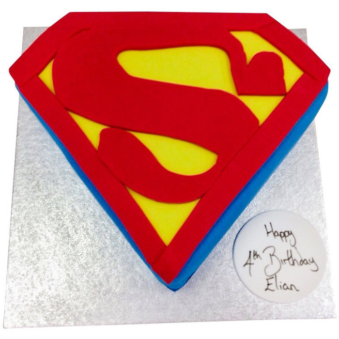Superman Cake - Last minute cakes delivered tomorrow!