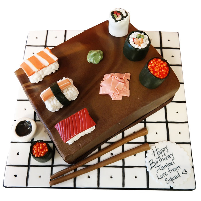 Sushi Cake - Last minute cakes delivered tomorrow!