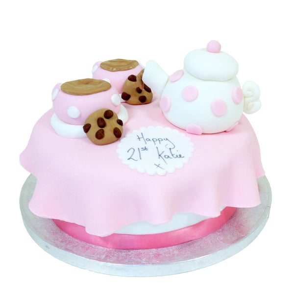 Miraculous Teapot Cake Buy Online Free Uk Delivery New Cakes Personalised Birthday Cards Cominlily Jamesorg