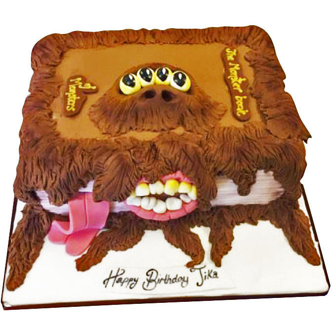 The Monster Book of Monsters Cake - Last minute cakes delivered tomorrow!